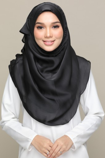 ASWAD PLAIN GEORGETTE SATIN