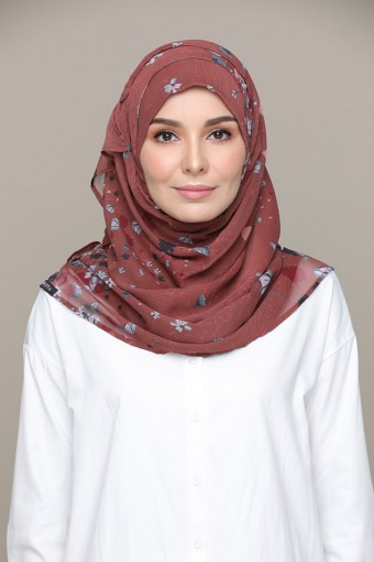 Rust Rust - Printed HD Smooth Chiffon