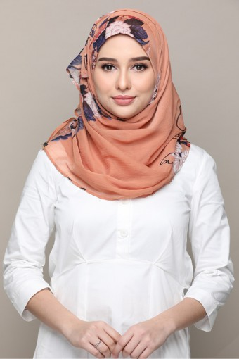 Fantasy-Printed Smooth Chiffon