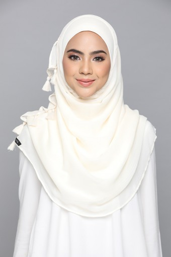 Eggnog -Plain Smooth Chiffon