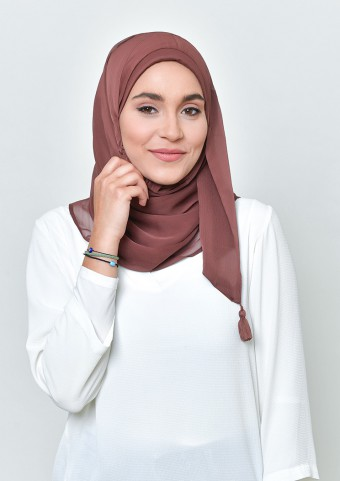 Fudge-Basics Plain Lite Chiffon
