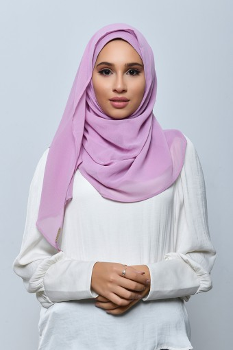 Smoothie-Taj-Plain Crepe Chiffon