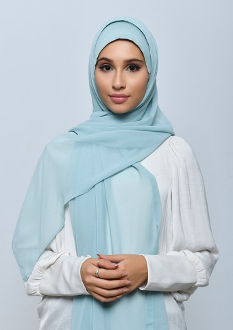 Skylight-Freestyle with Inner-Plain Crepe Chiffon