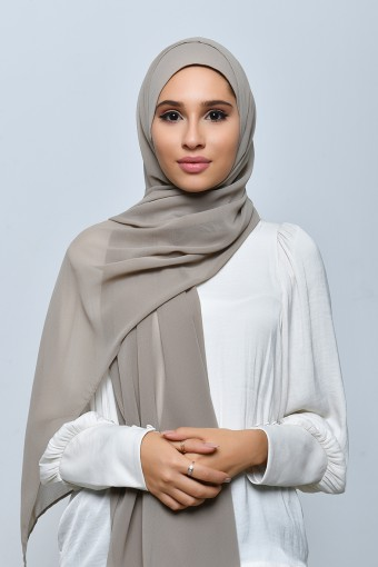 Shore-Freestyle with Inner-Plain Crepe Chiffon